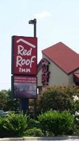 Red Roof Inn Florence - Civic Center : Front of the Inn