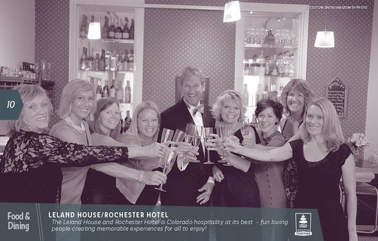 The Leland House and Rochester Hotel: Rochester Staff—Awesome, Friendly helpful