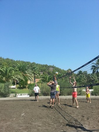 Robinson Club Sarigerme Park: Beachvolleyball