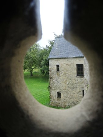 Manoir du Quesnay : view from stair