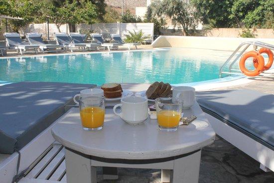 Hotel Anastasia Santorini: La nostra colazione