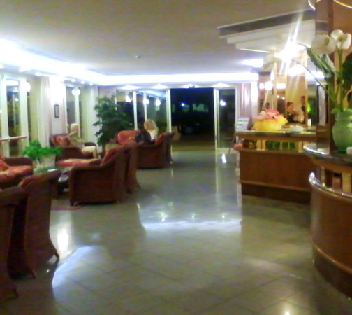 Hotel Tiffany : hall