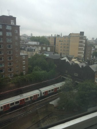Copthorne Tara Hotel London Kensington: Gorgeous view.....;)
