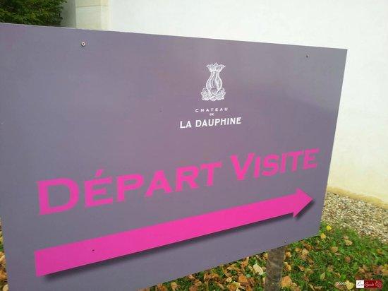 Château de La Dauphine: Belle visite (portes ouvertes)