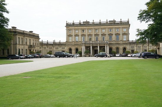 Cliveden House: The front of the hotel