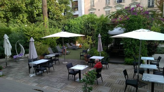Hotel Villa Victoria : Garden