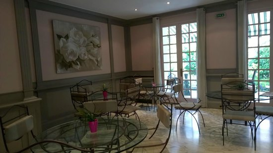 Hotel Villa Victoria: Lobby
