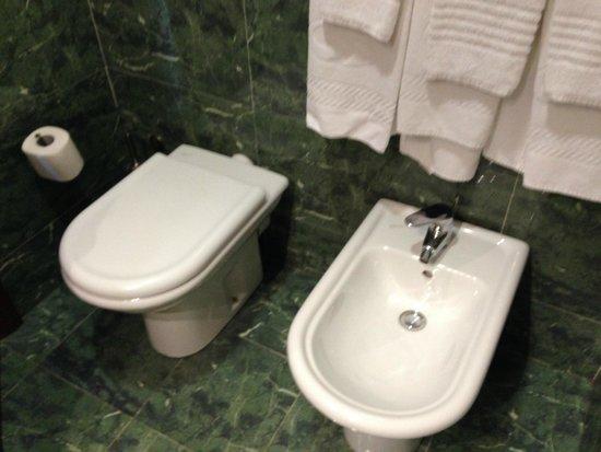 Fiesta Hotel Athènee Palace: Asciugamani pulite e profumate