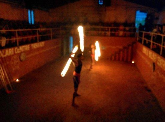 Mudra Cultural Centre: Kalaripayettu Performance