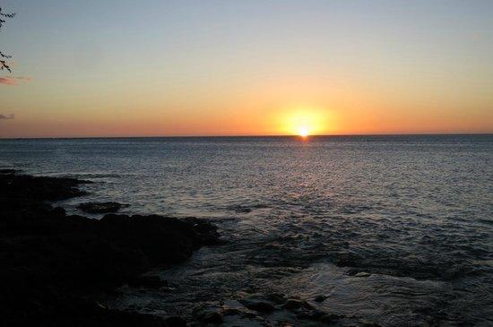 Kolea at Waikoloa Beach Resort: A' Bay sunset