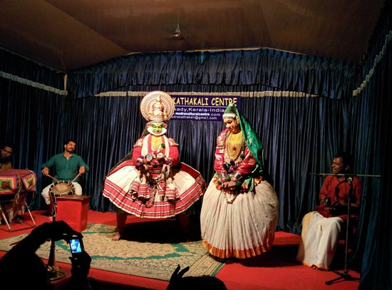 Mudra Cultural Centre: Kathakali Performance