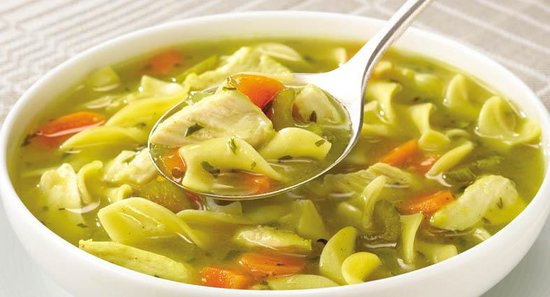 Reyes Adobe: Chicken Noodle Soup