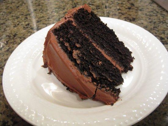 Reyes Adobe: Chocolate Layered Cake