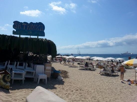 Sa Trinxa Beach Bar: Sa Trincia