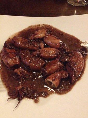 La Tosca: Baby squid. Really good