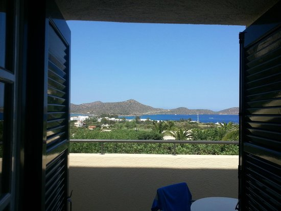 Elounda Palm Hotel: View from our room