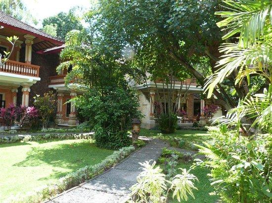 Rambutan Boutique Hotel: the nice garden