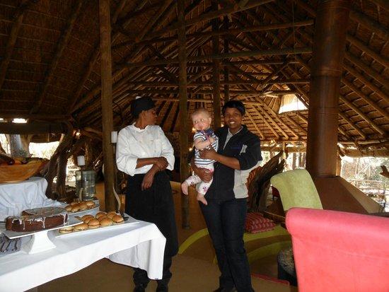 Jaci's Safari Lodge: Very friendly Staff