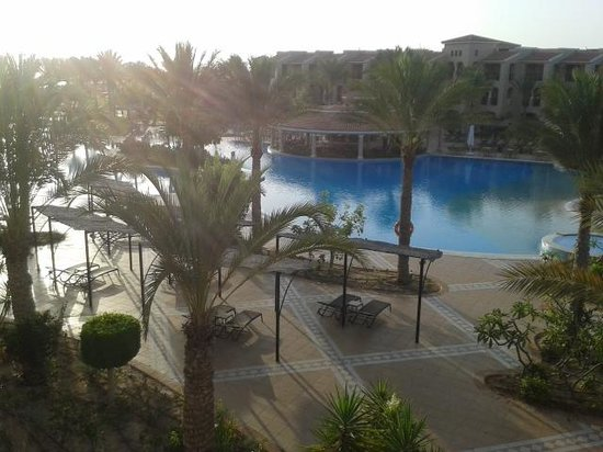 Jaz Almaza Beach Resort: dalla nostra stanza