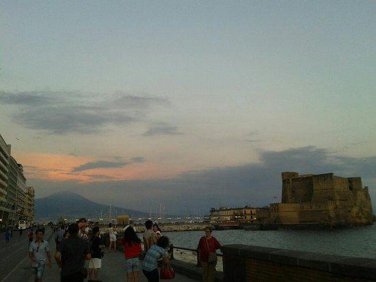 Via Caracciolo e Lungomare di Napoli : Che bello