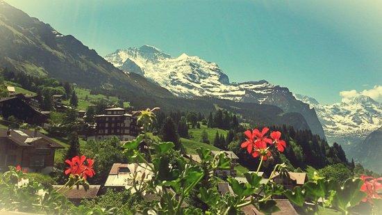 Hotel Caprice: Der wunderschöne Ausblick auf der Terrasse