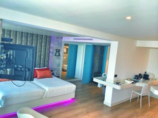 Habitacion fotograf a de hard rock hotel ibiza playa d for Hotel habitacion familiar ibiza
