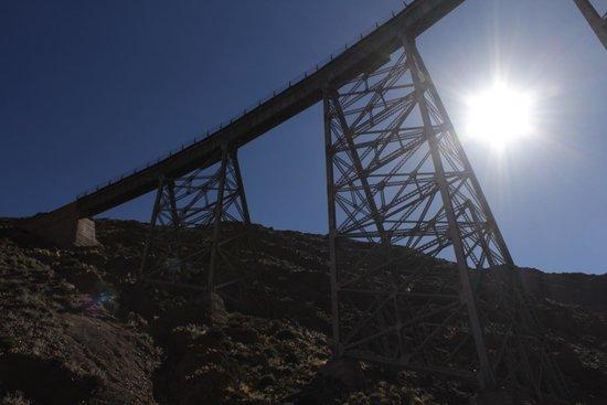 Train to the Clouds : Viaducto la polvorilla