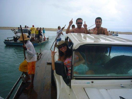 Jeri Viagens Off Road: Balsa para praia do Mangue