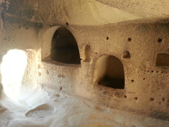 HtR Tours: The caves in Cappadocia go back as far as 6000 BC.