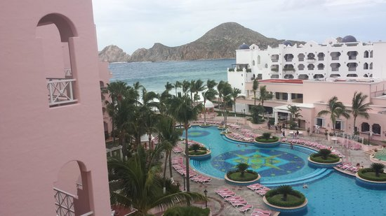 Pueblo Bonito Rose: View from our 6th floor room balcony