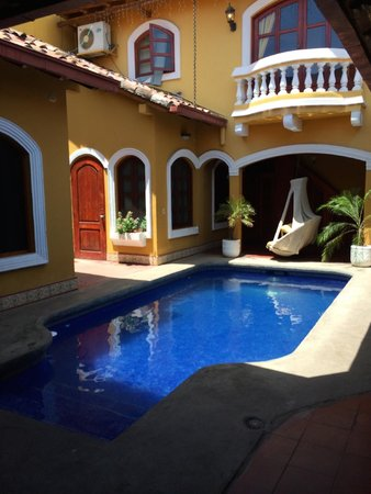 Courtyard pool of Casa del Agua