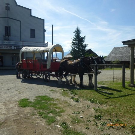 Fort Steele Heritage Town: Wagon Ride