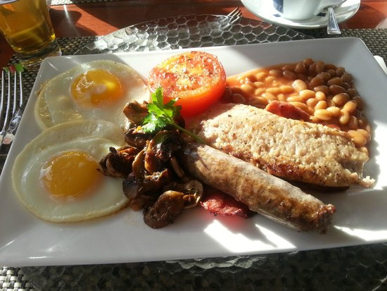 The Sands at St Francis: Freshly cooked breakfast