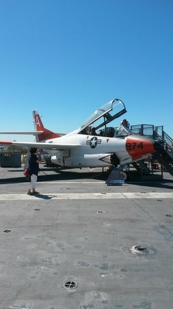 USS Midway Museum: Fighter