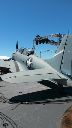 USS Midway Museum: Original fighter