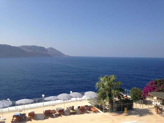 Hotel Cachet: The view from our room - Room 101