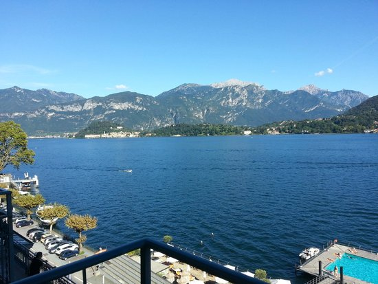 Grand Hotel Tremezzo: View from our room