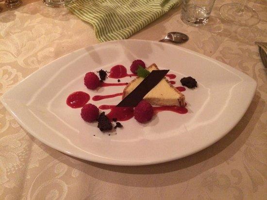 Hotel Petrus: Dessert