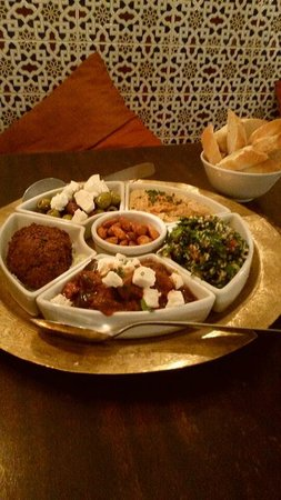 Cafe Mauresque: vegetarian sharing starter