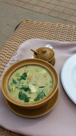 Thai Garden Resort: Green curry