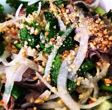 Pho Minh Thu: Cold Thai Beef Salad