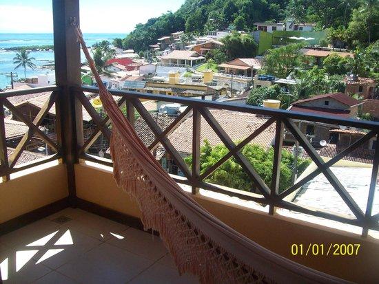 Charme Pousada Boutique & Spa: balcón de la habitación!