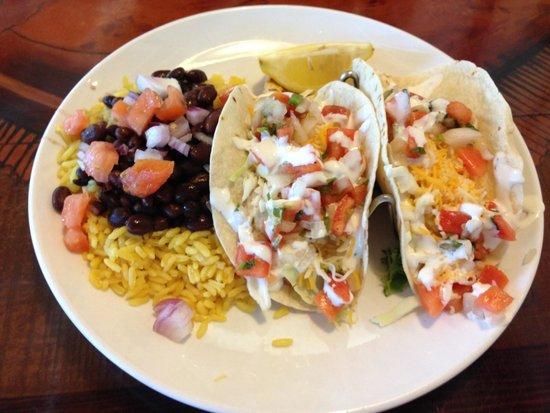 New England Fish Market & Restaurant: Fish Tacos