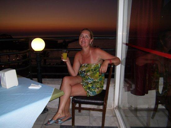 Surtel Hotel: Закат