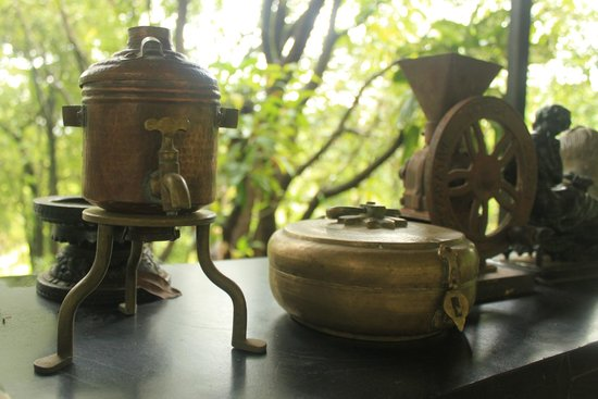 Kundalika Cottages : unique things kept in the dining area