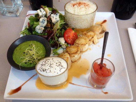 Les Pérot-Quais : L'assiette Tropicale