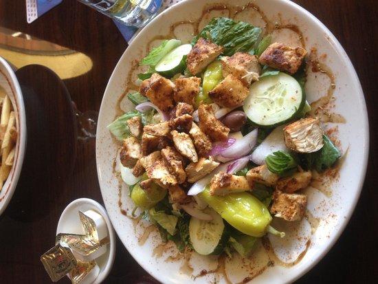 Zaharias: Amazing salad