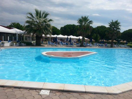 La  Buca del Gatto Hotel: La piscina.