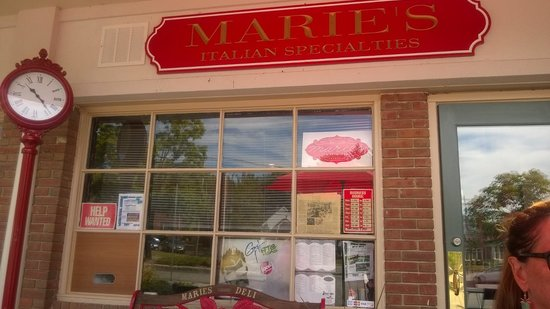 Marie's not fancy but great food