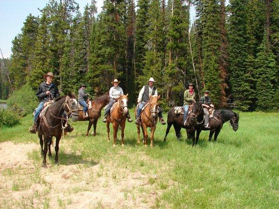 Beartooth Plateau: Family Horseback Adventure